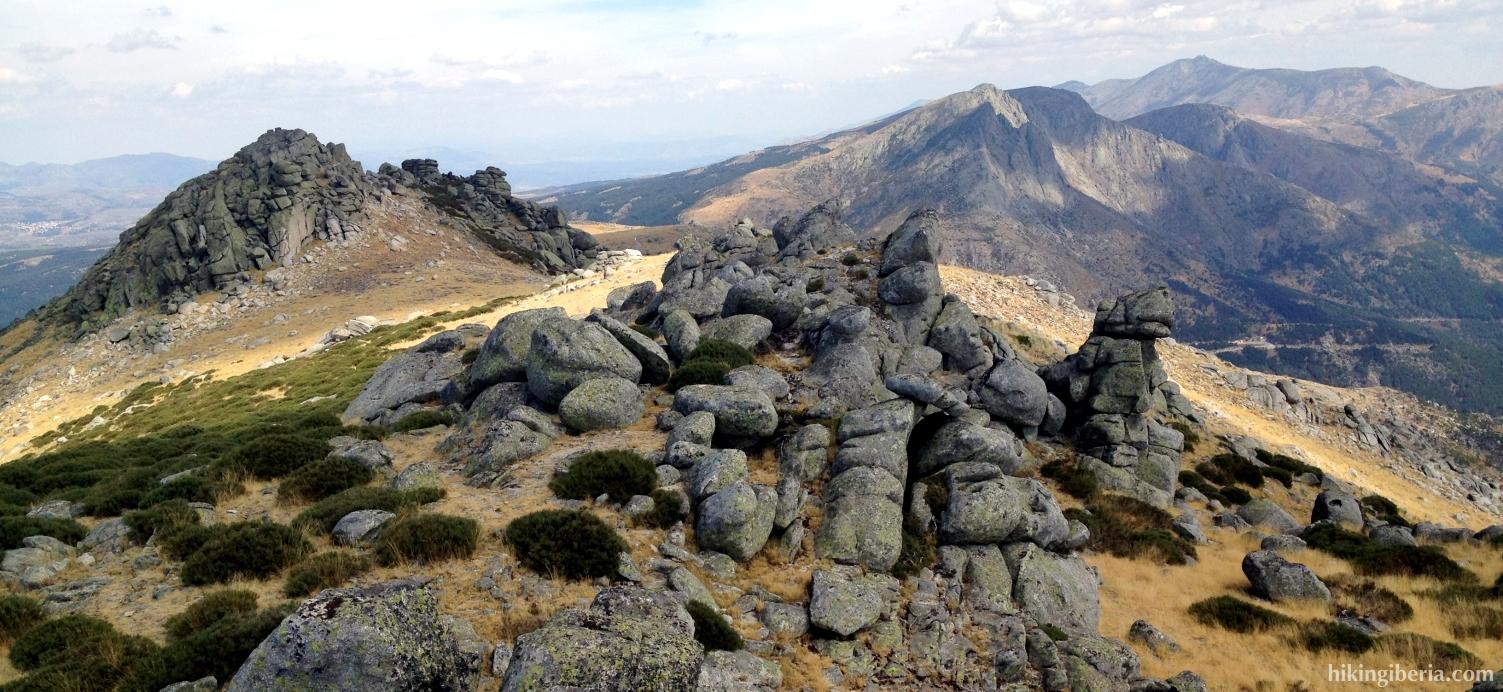View from Pico la Fría