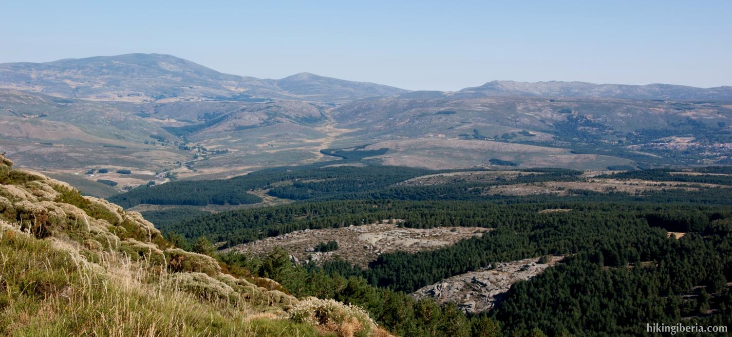 Bei der Berghütte von Los Cernuvales