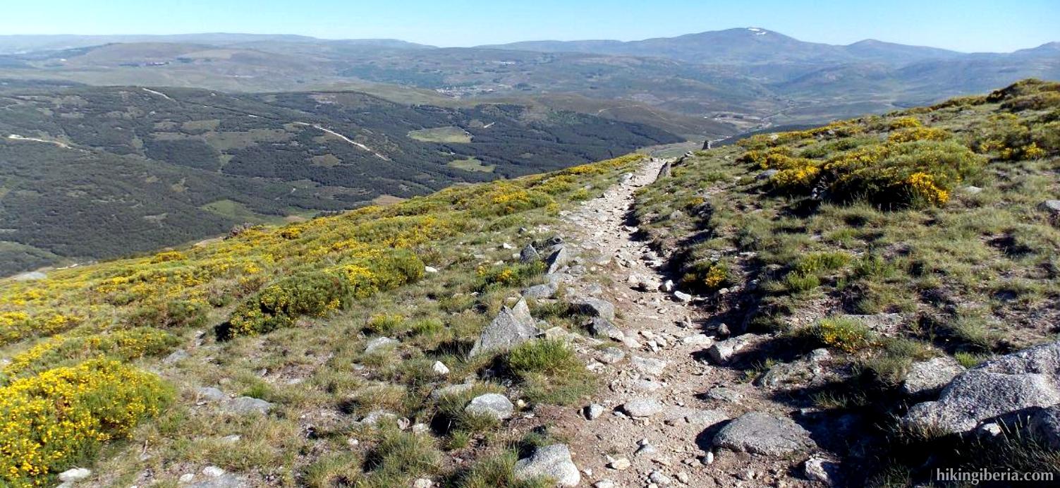 Abstieg zum Puerto del Pico