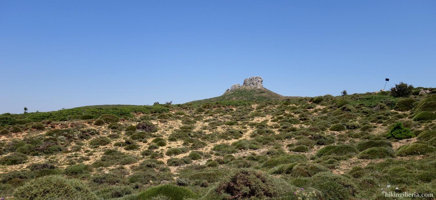 Uitzicht op de Peñas de Herrera