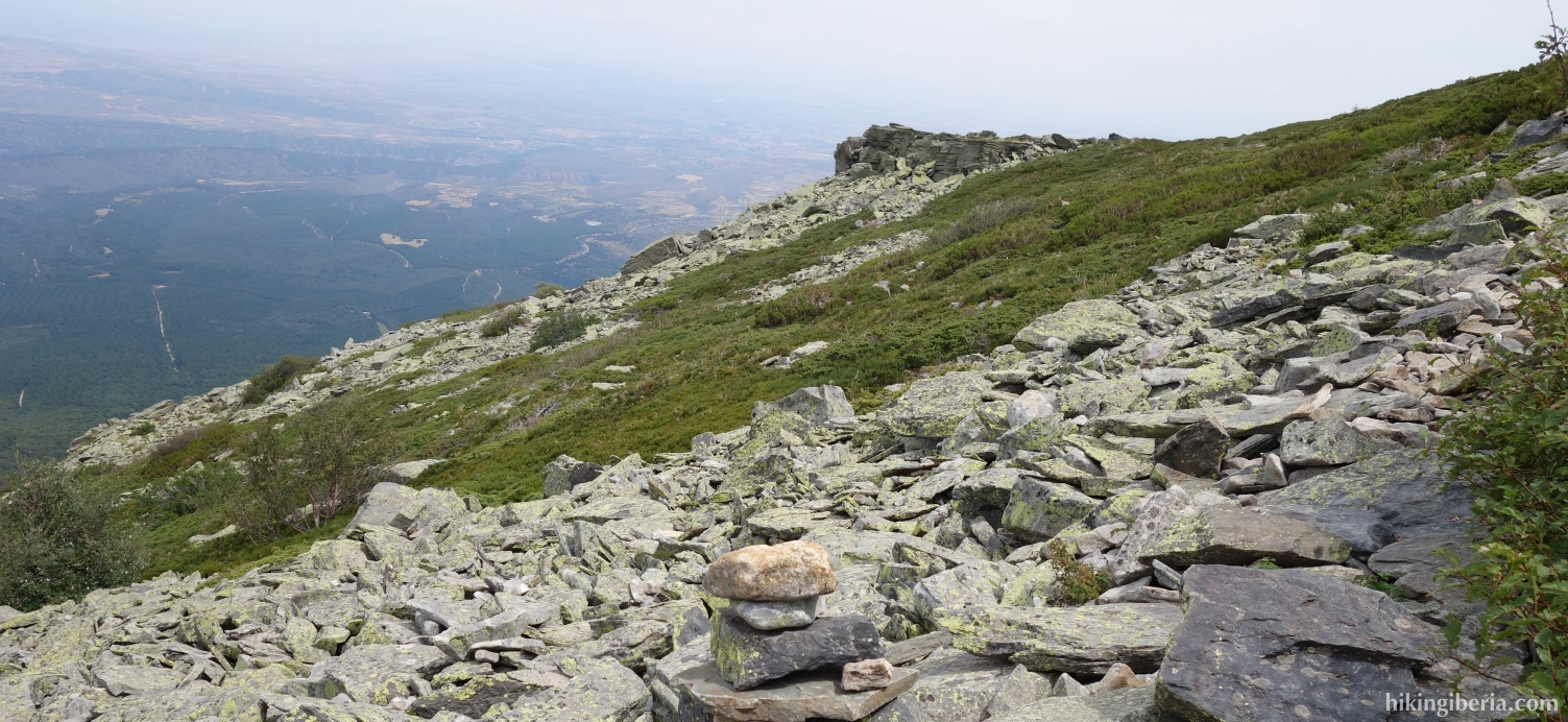 Aufstieg zum Collado de Pasalobos