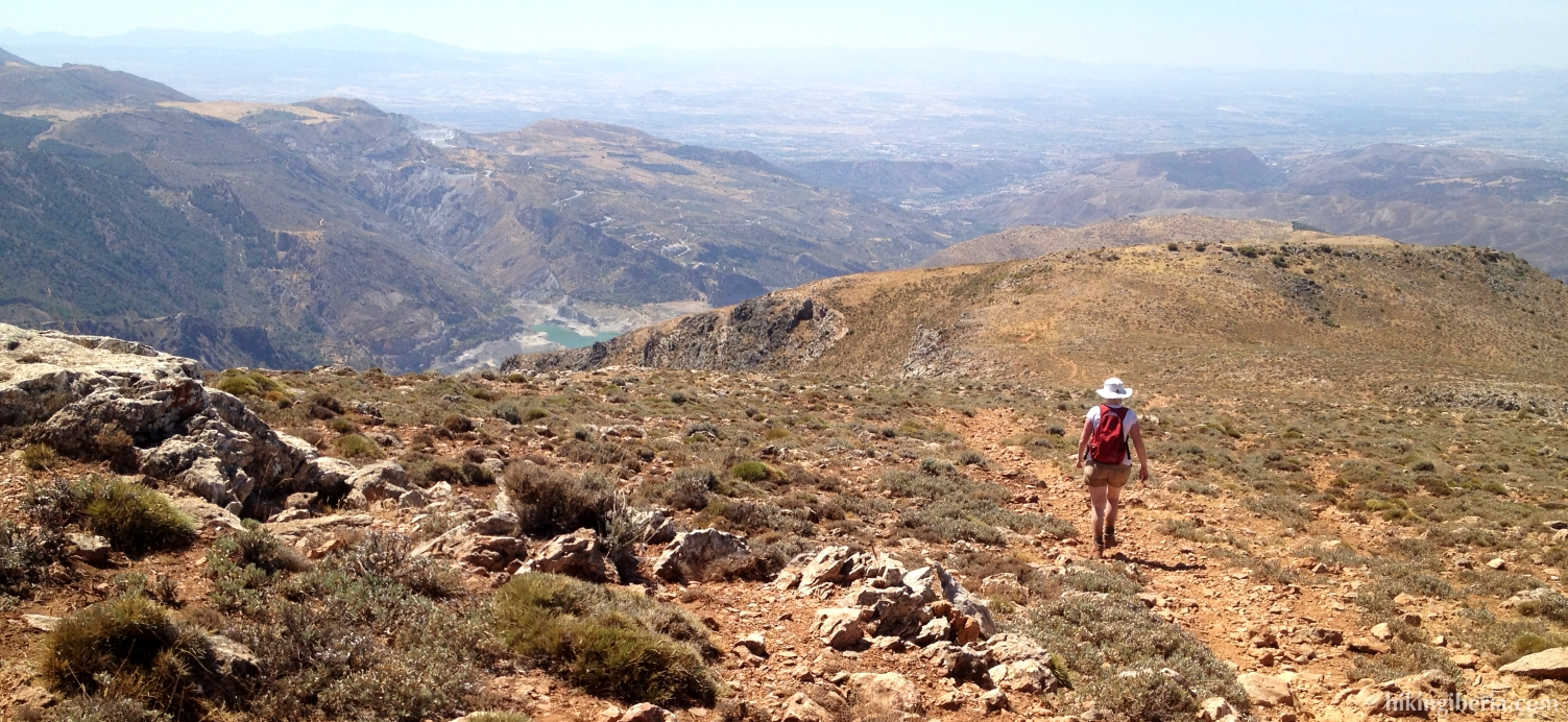 Descent to Güéjar-Sierra