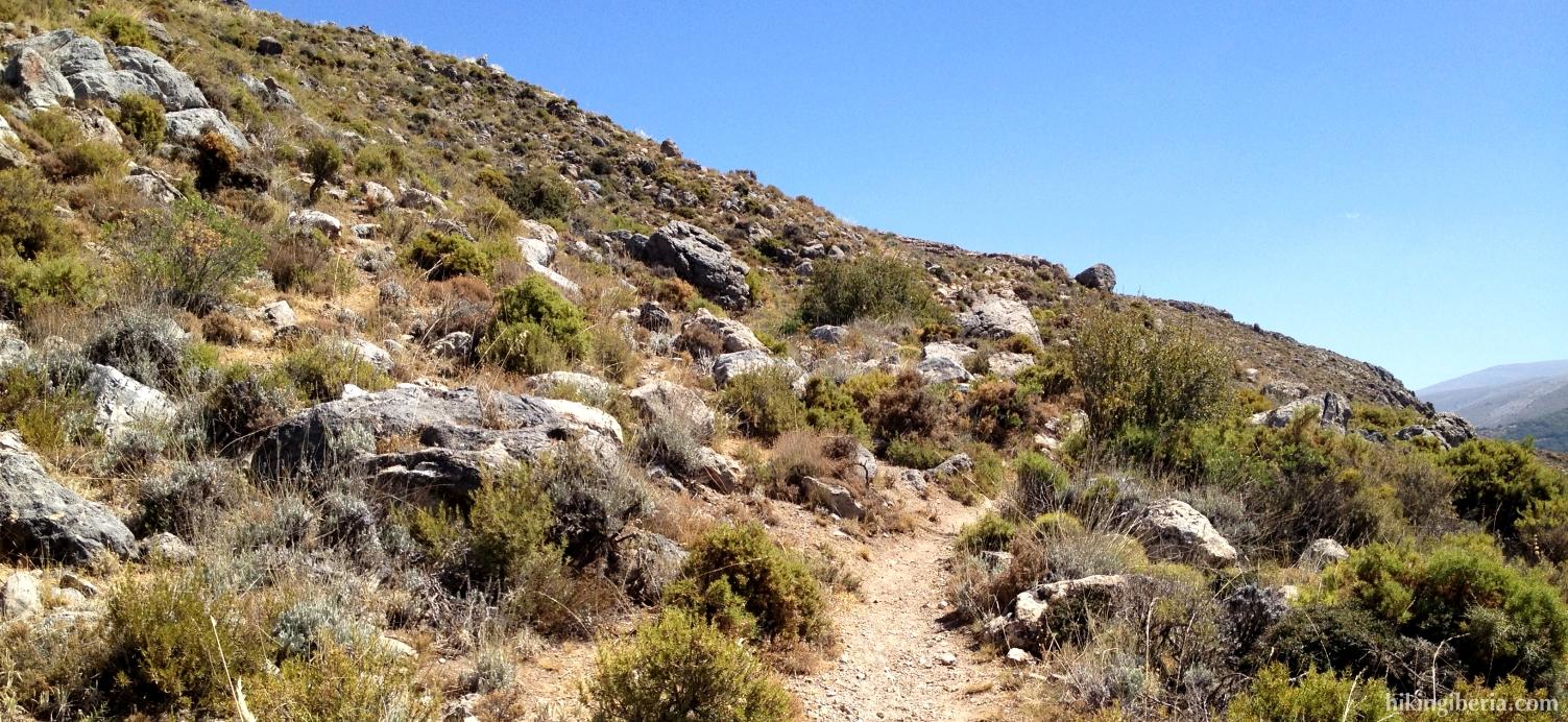 Climb to the Collado de la Gitana