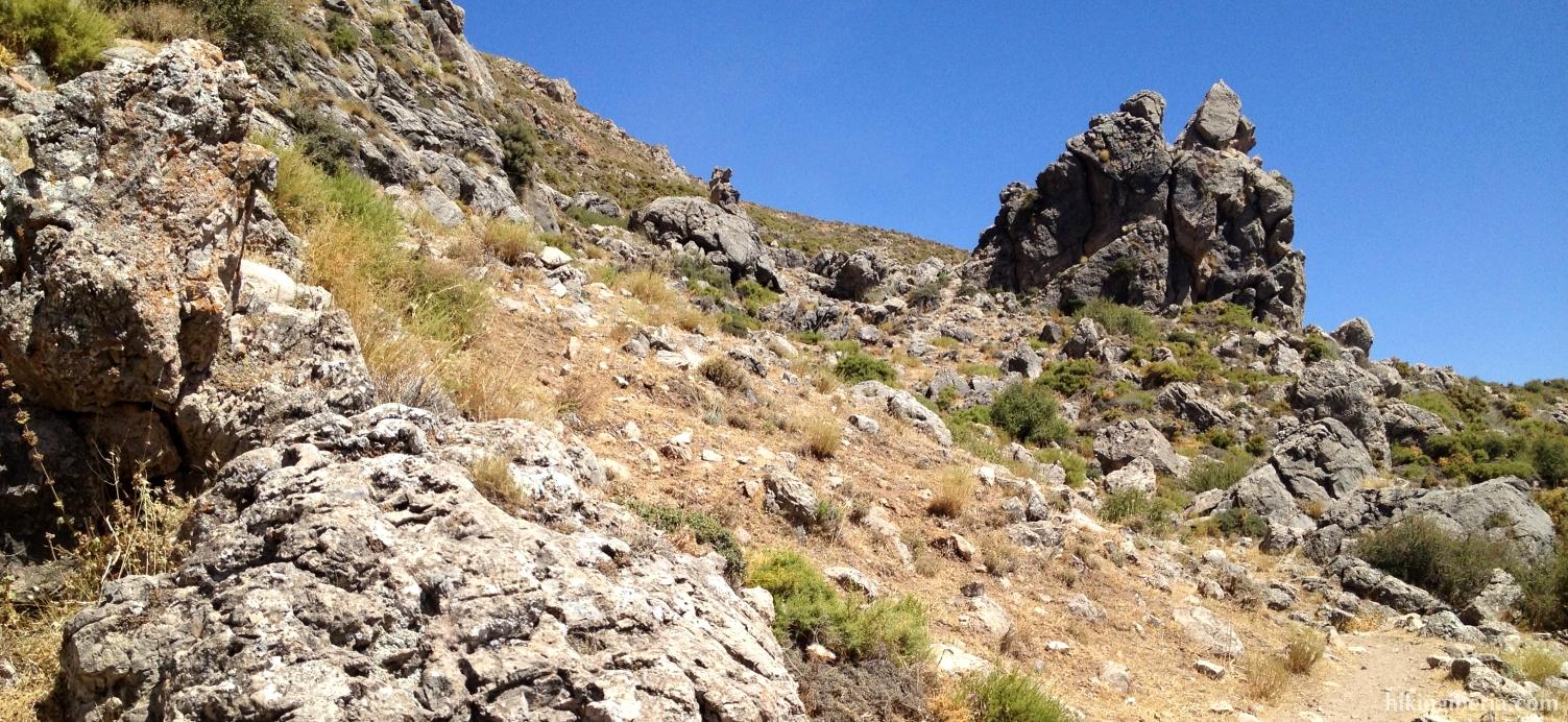 Klim naar de Collado de la Gitana