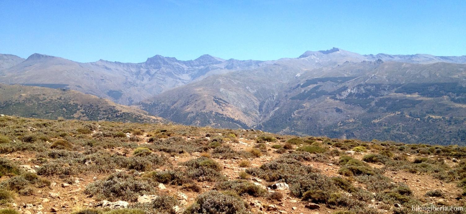 Uitzicht vanaf de Calar