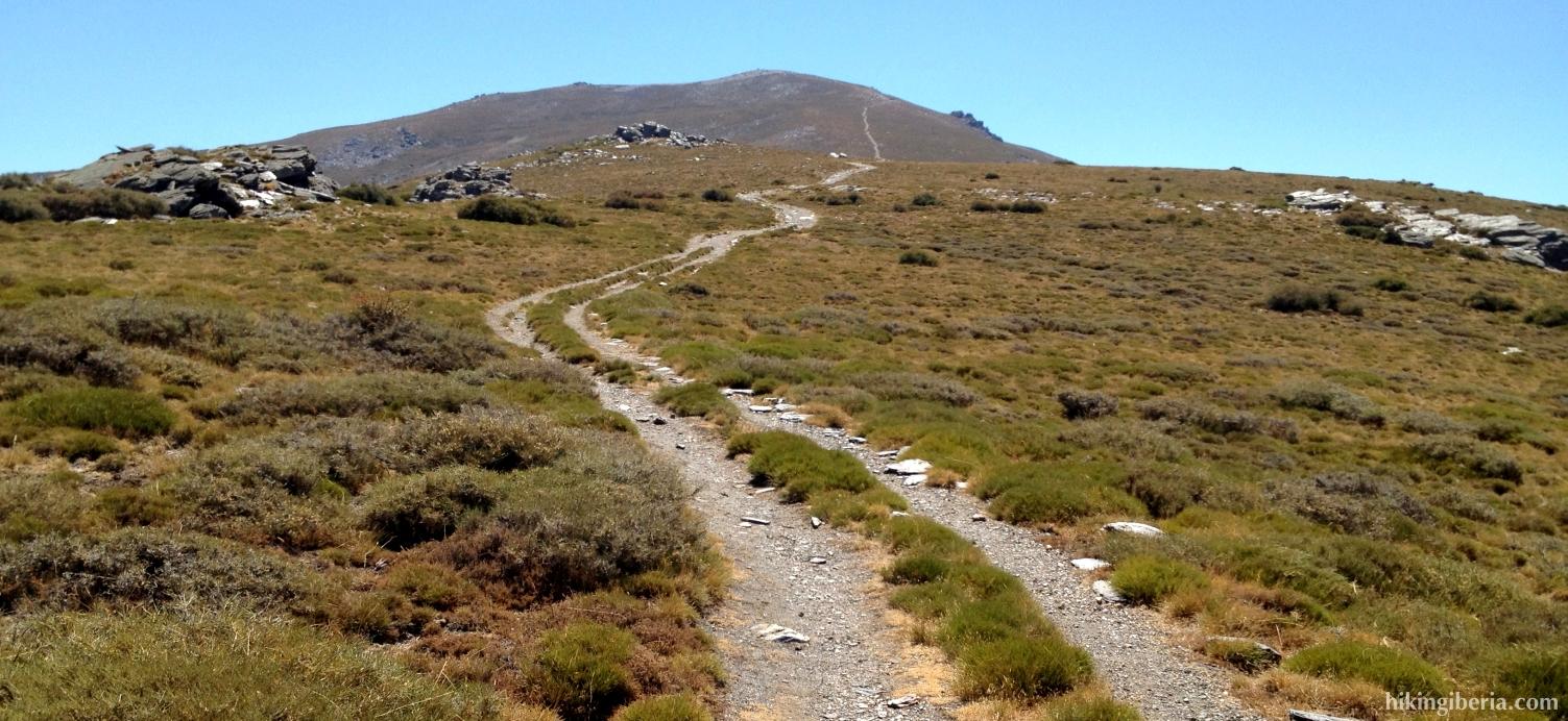 Aufstieg zu El Chullo