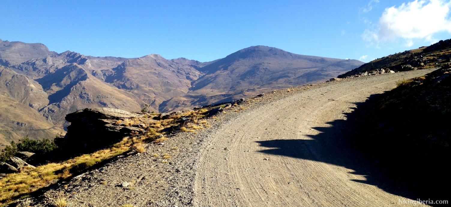 Weg nach Alto del Chorrillo