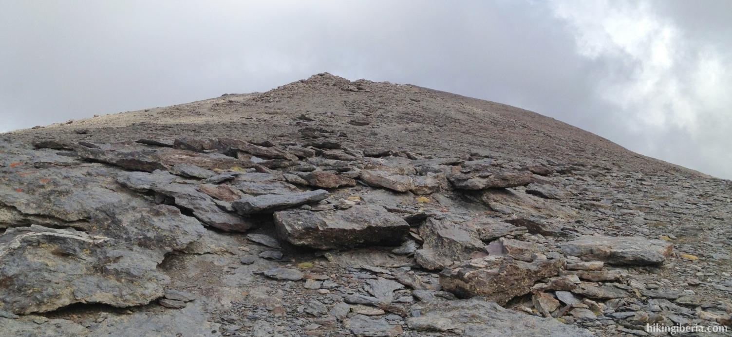 Beklimming van de Mulhacén
