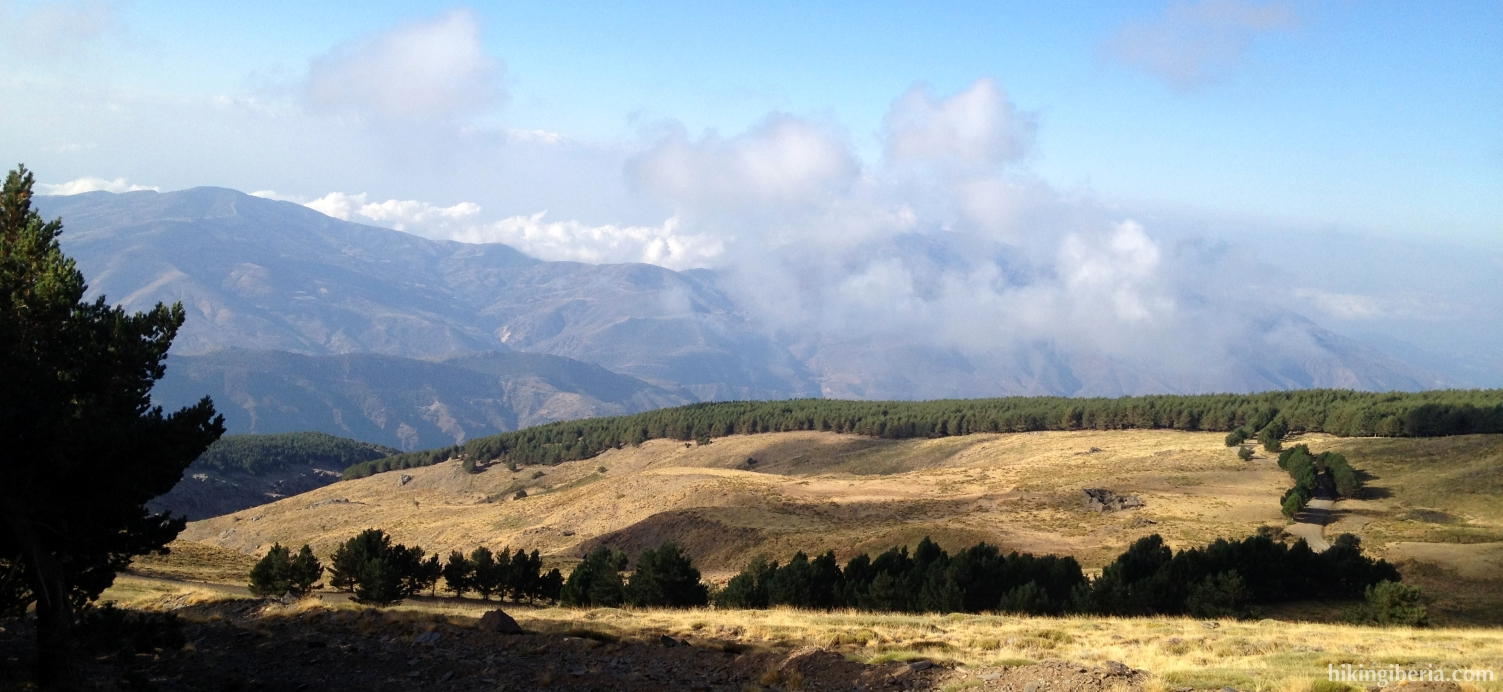 On the road to the Alto del Chorrillo
