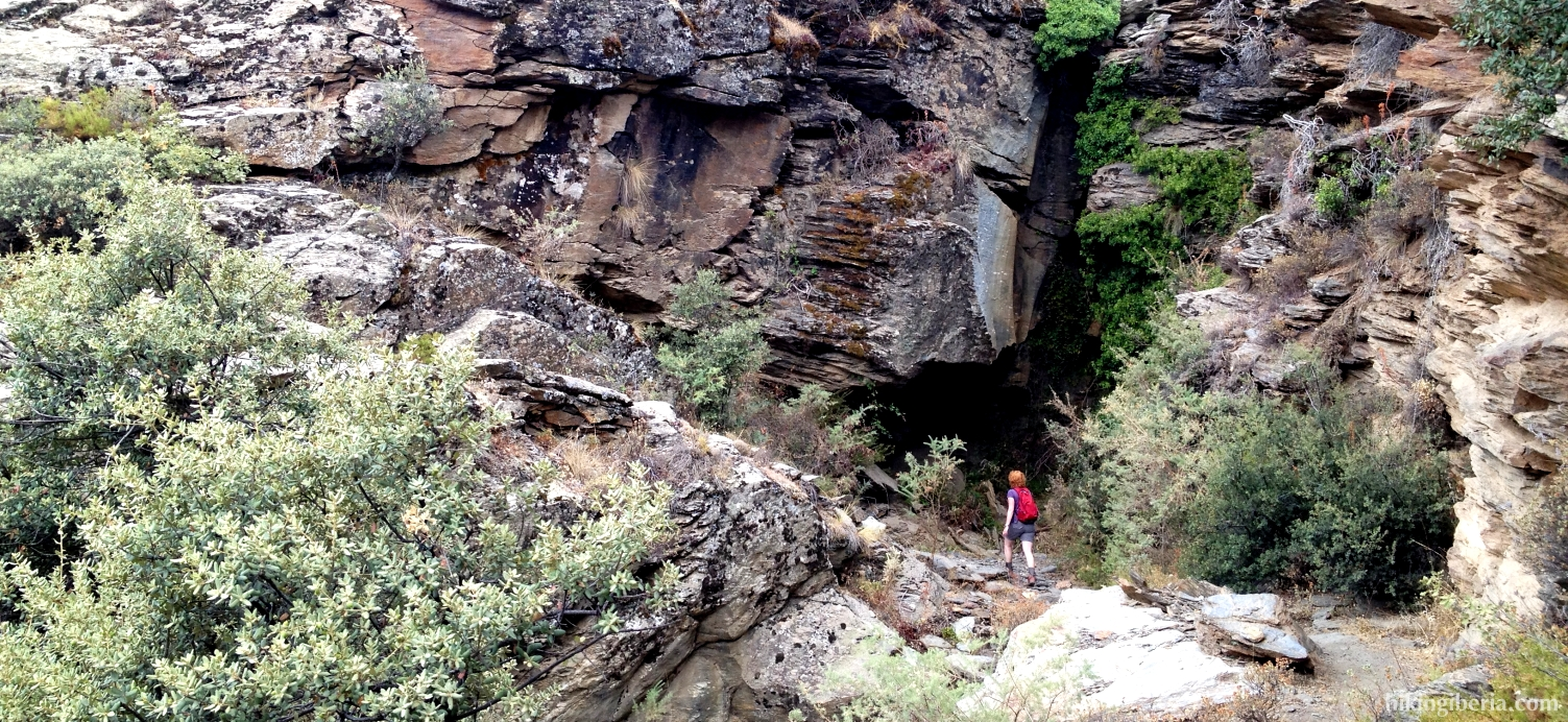 Abstieg nach Pórtugos