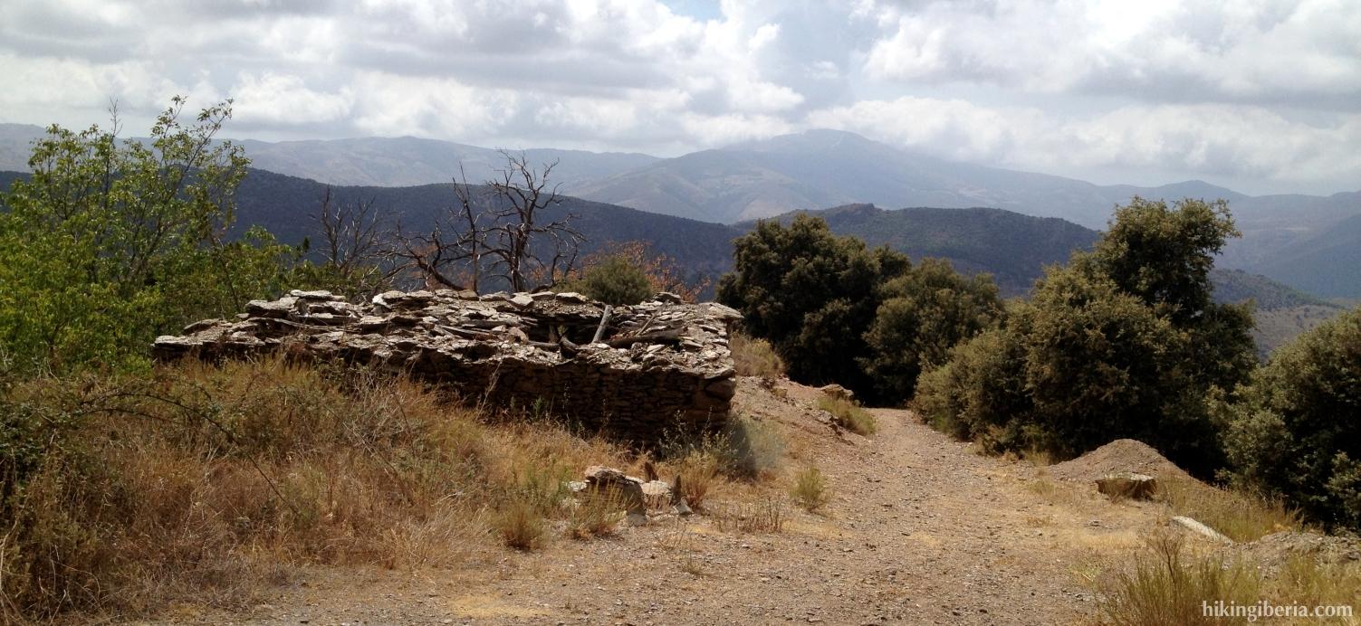 Climb towards Capilerilla