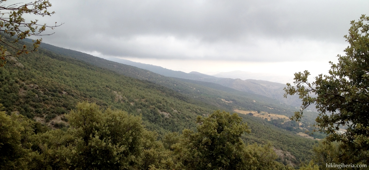 Climb to the Loma de las Tonadas