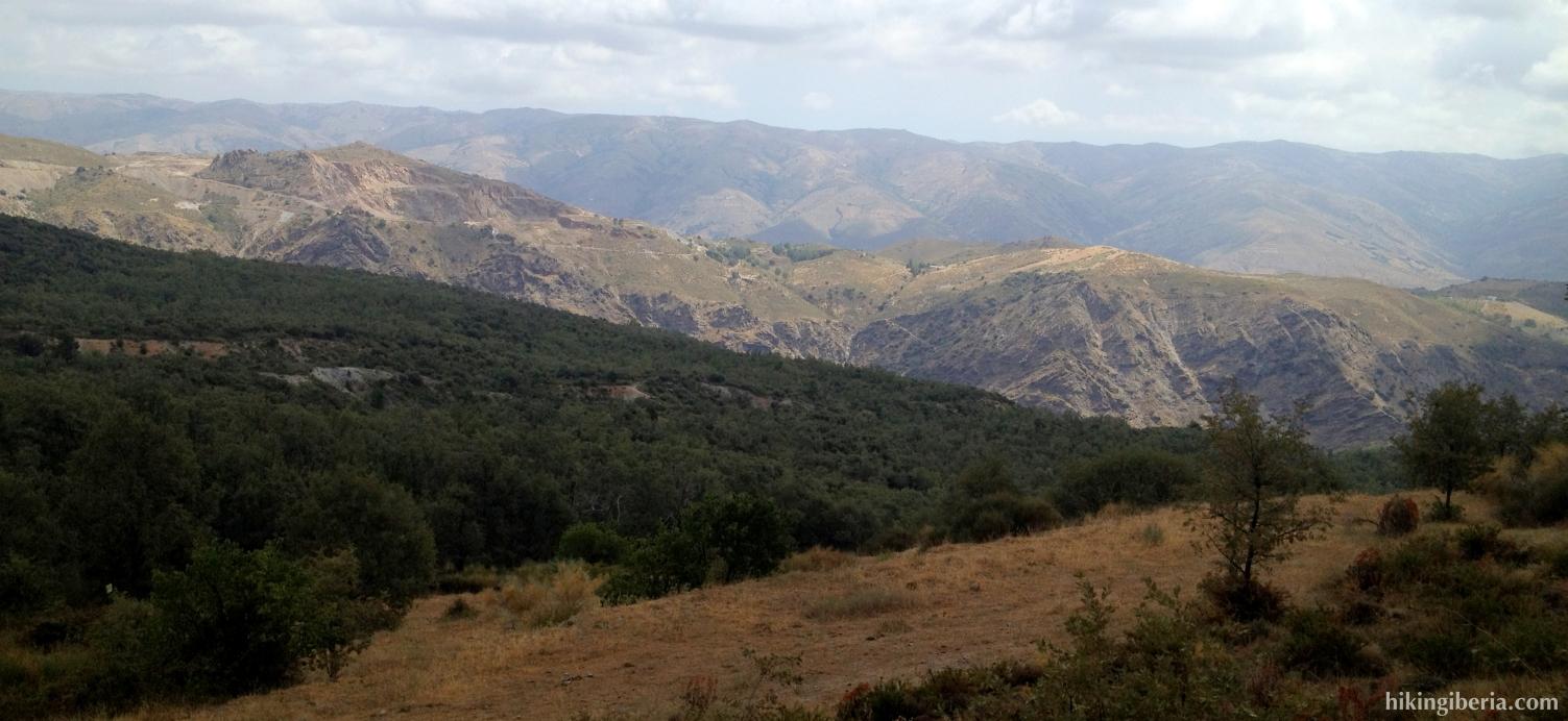 Vistas desde descenso a Pórtugos