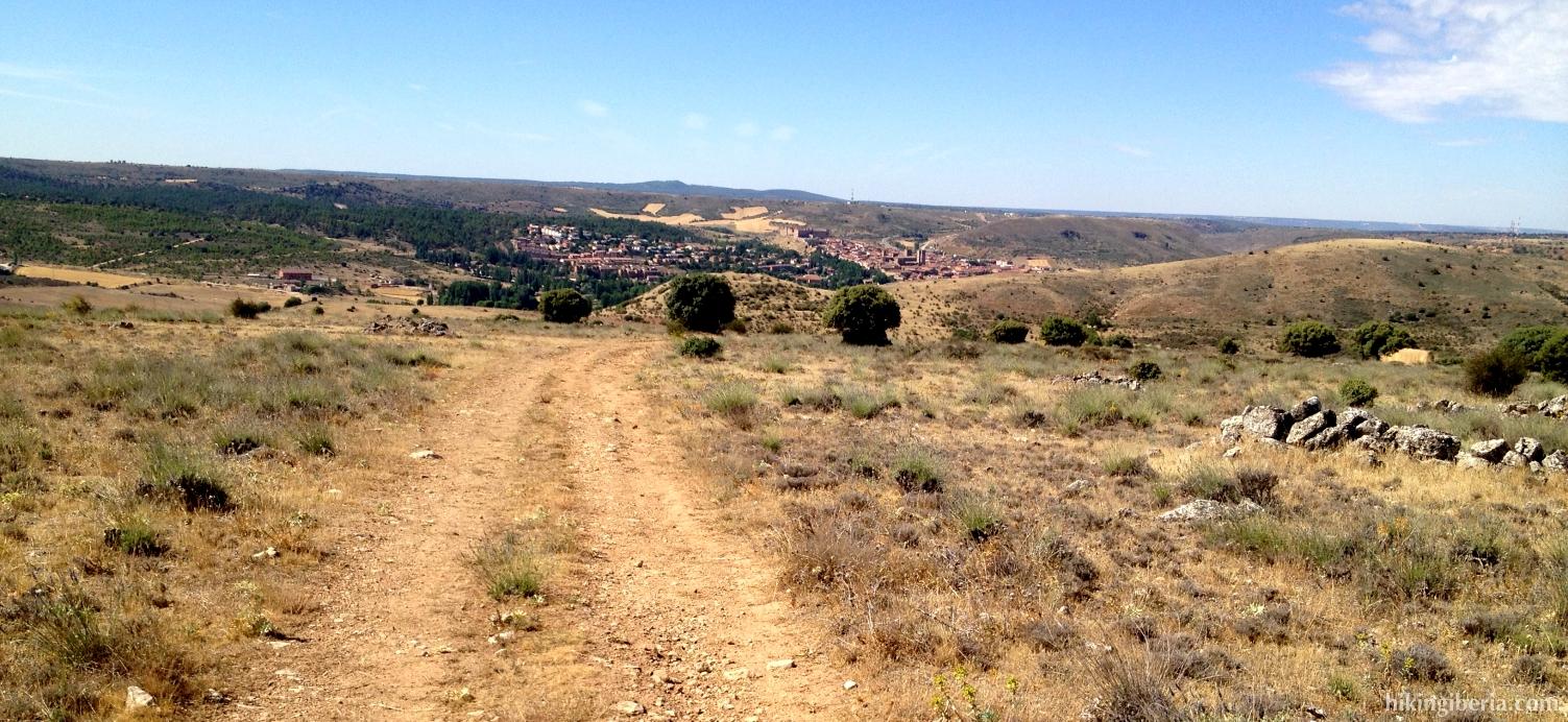Uitzicht op Sigüenza