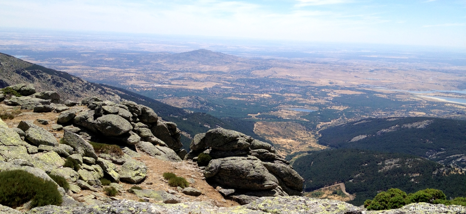 View from the Col of the Najarra