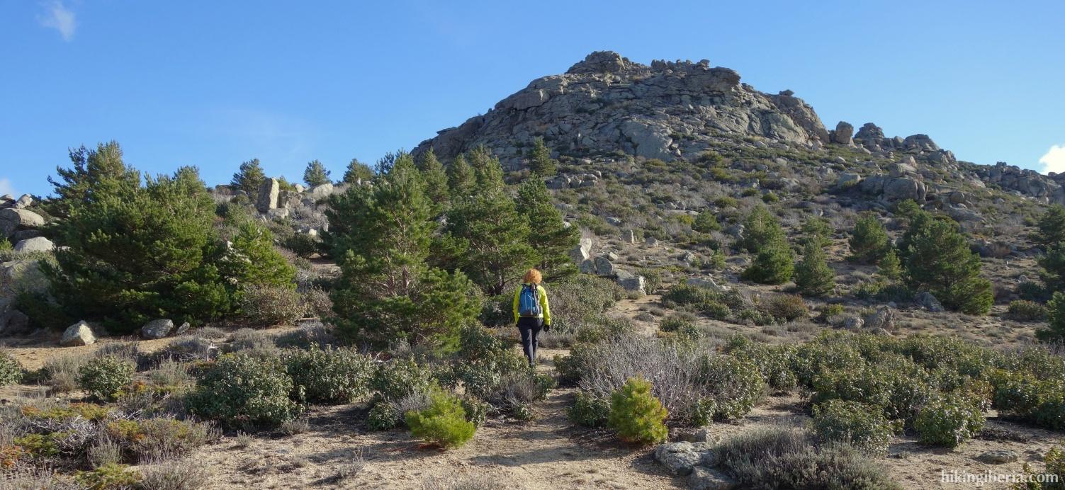 Camino hacia el Pico Pendón