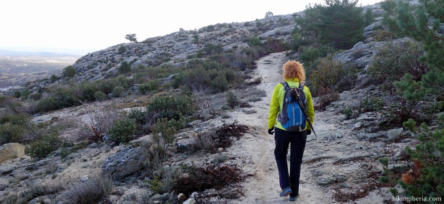 Pad richting de Portachuelo
