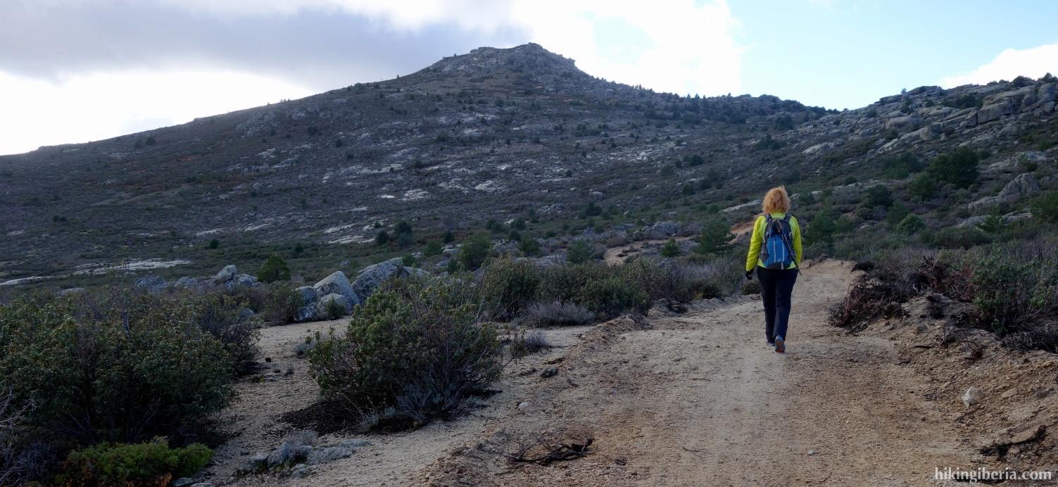 Camino hacia el Portachuelo