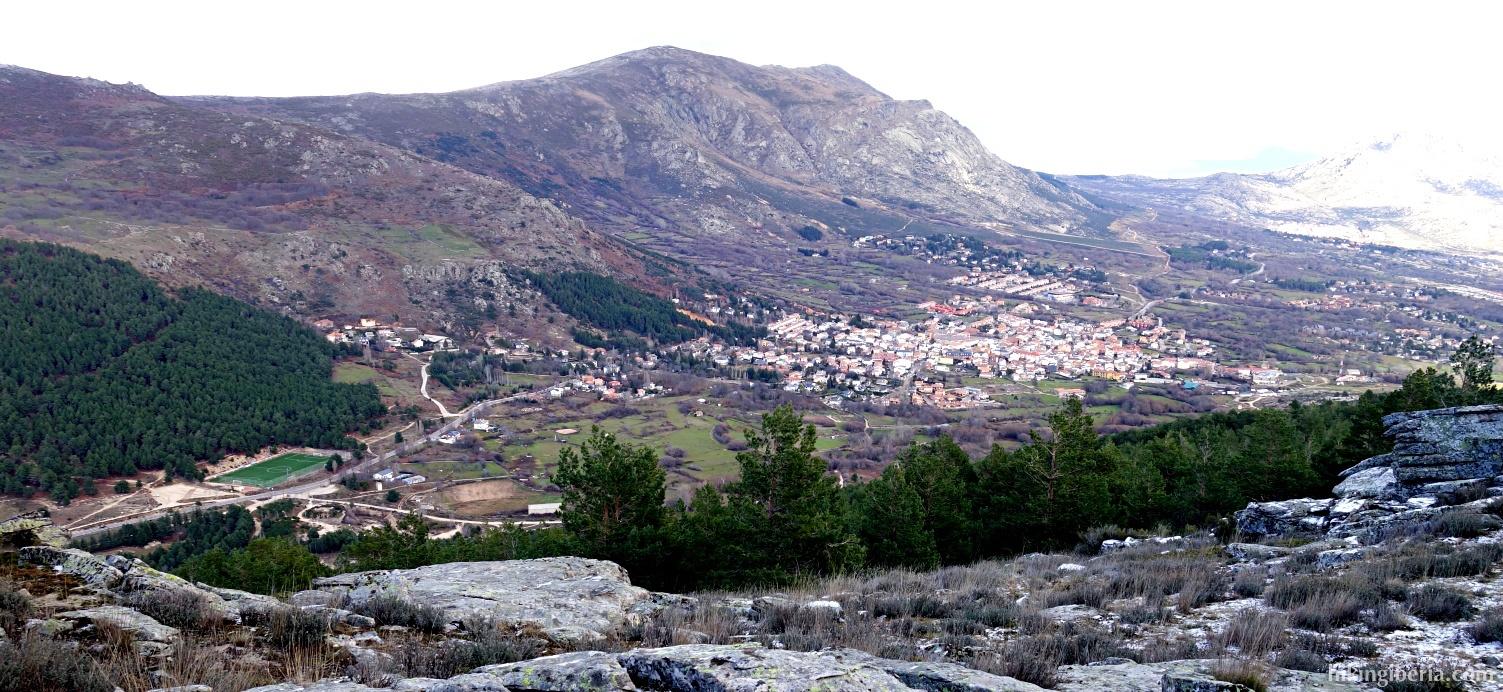 Aussicht von der Cabeza Arcón