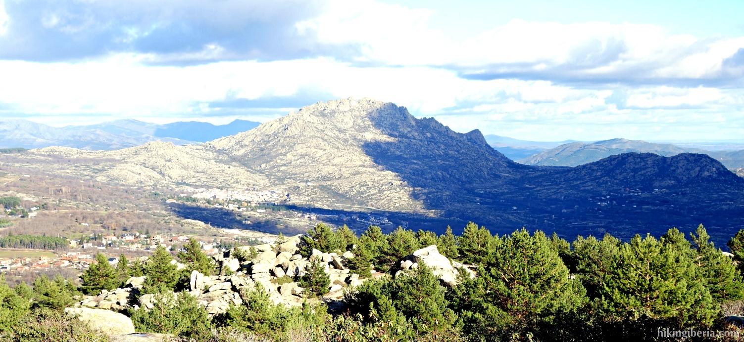 Uitzicht op de Sierra de la Cabrera