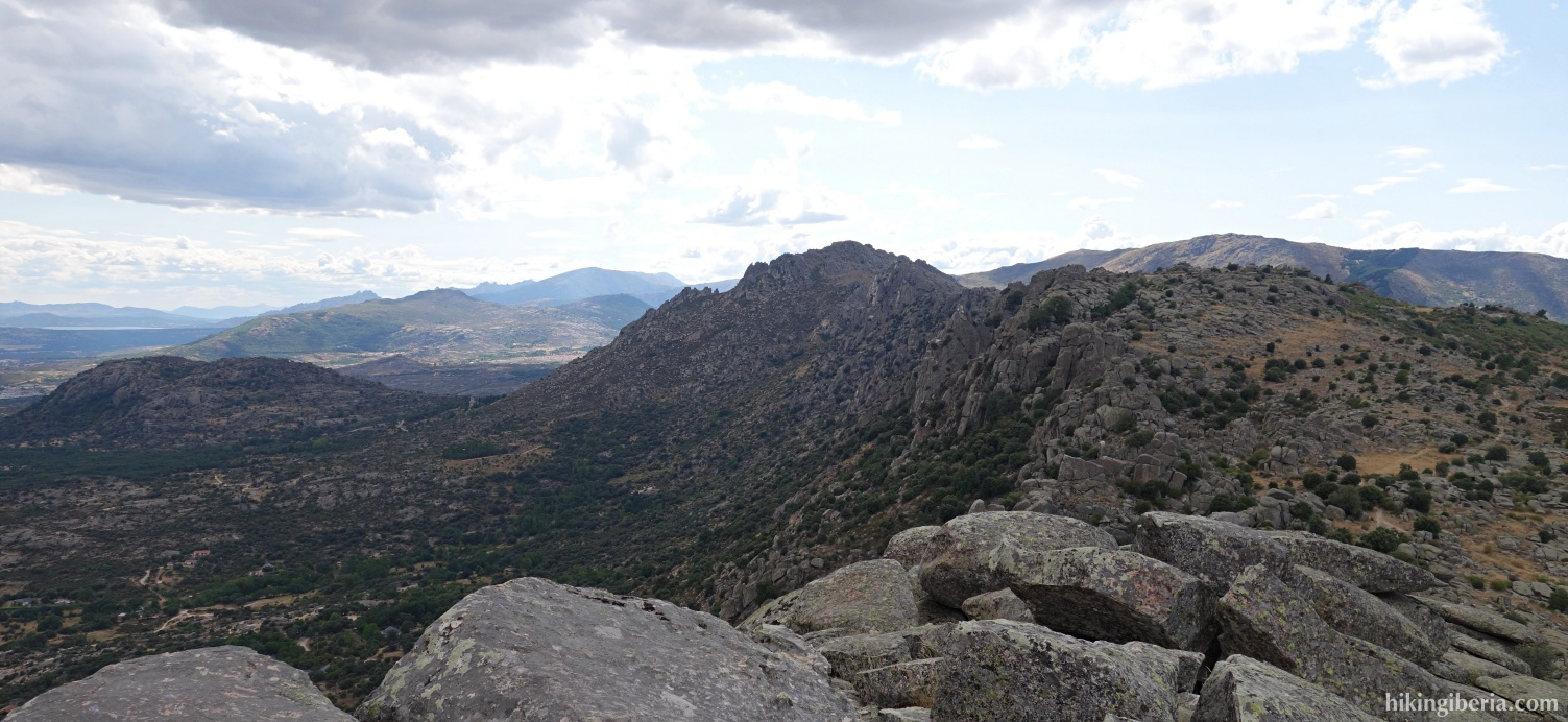 View from the Pico de la Miel
