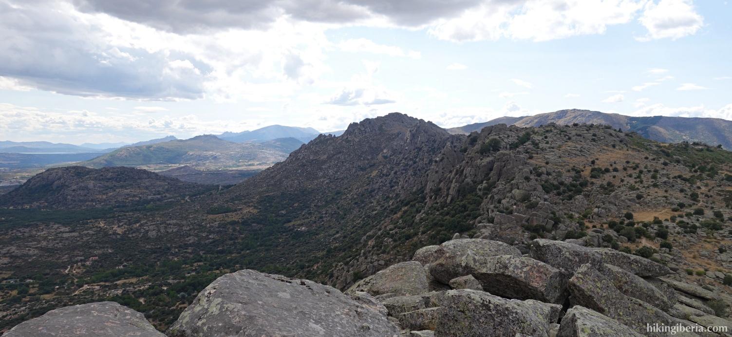 Aussicht ab dem Pico de la Miel