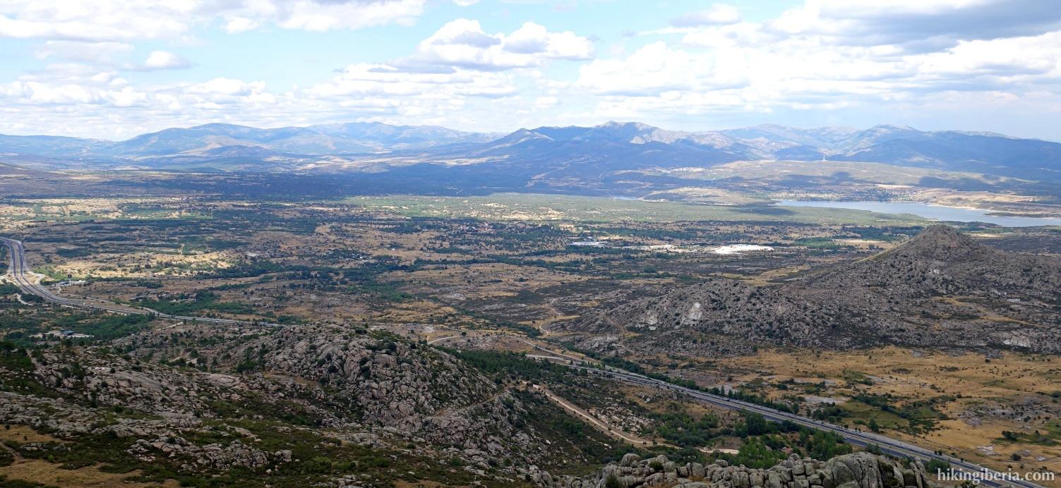 Vista desde el Pico de la Miel