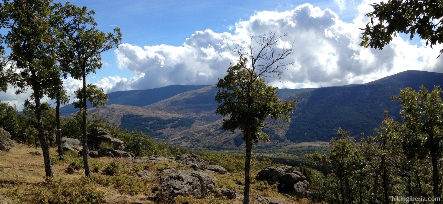 Aussicht während des Aufstiegs zur Cachiporrilla