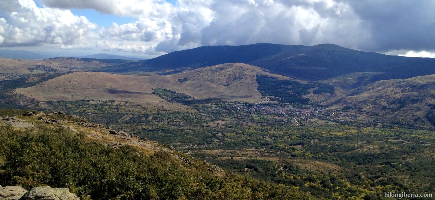 Uitzicht vanaf de Cachiporrilla
