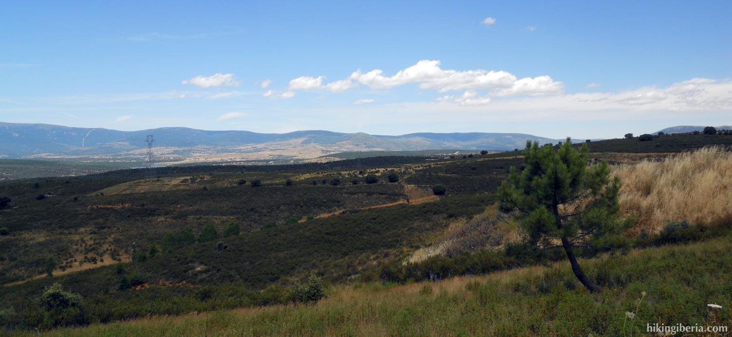 Heuvels bij Berzosa del Lozoya