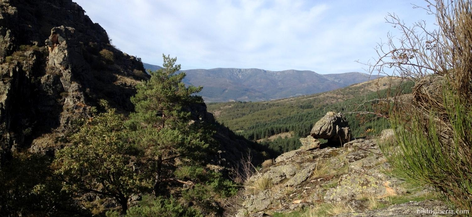 Aussicht in der Nähe der Kaskade vom Purgatorio