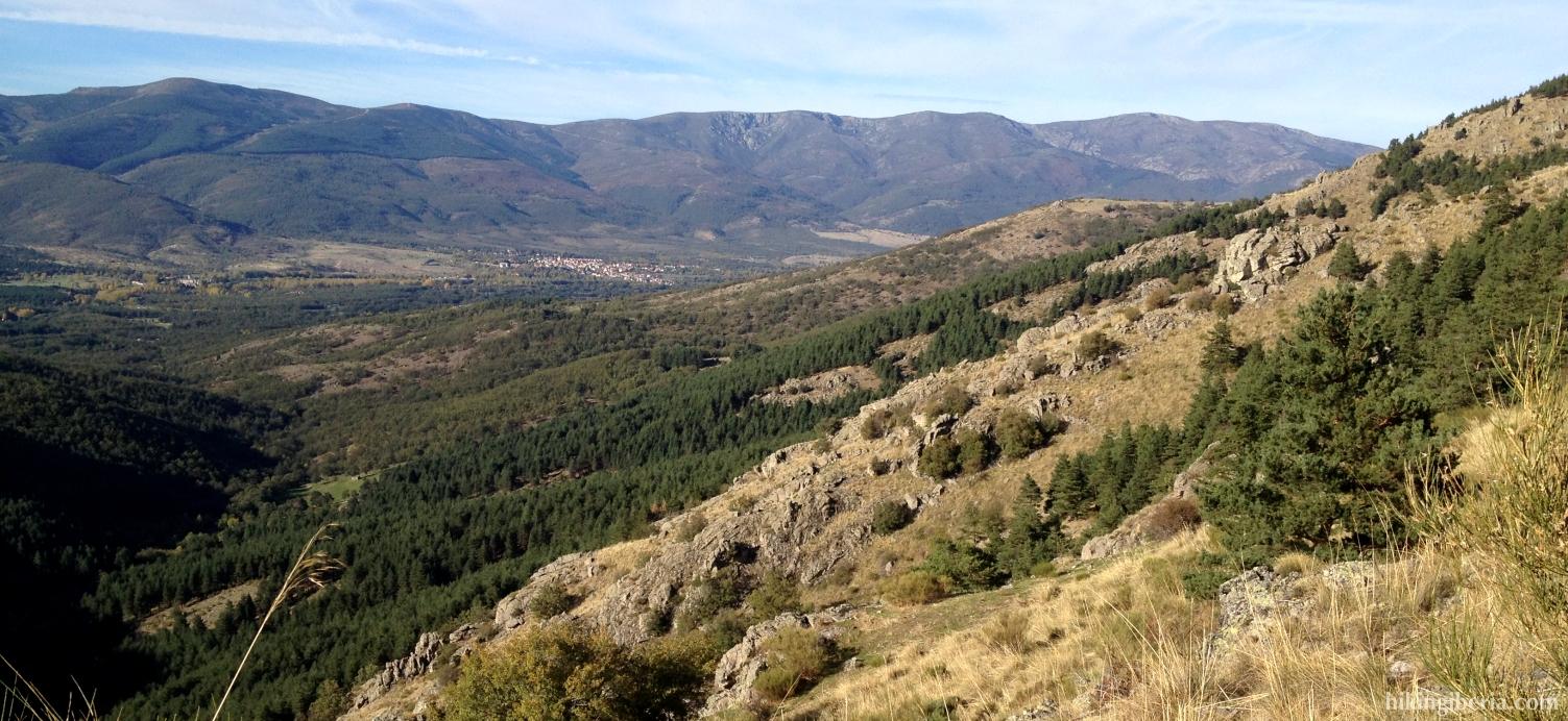 View near the Cascade of the Purgatorio