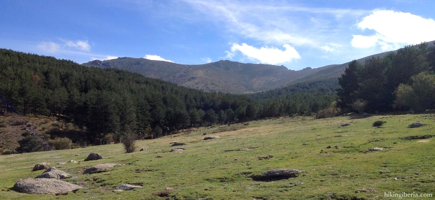 View from Los Barracones
