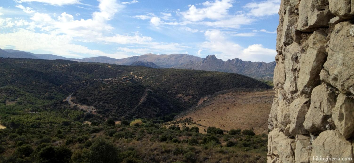 Uitzicht vanaf de Atalaya de Arrebatacapas