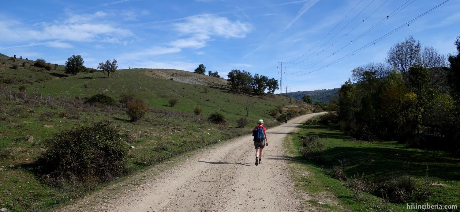 Op de Camino de Lozoya a Navarredonda