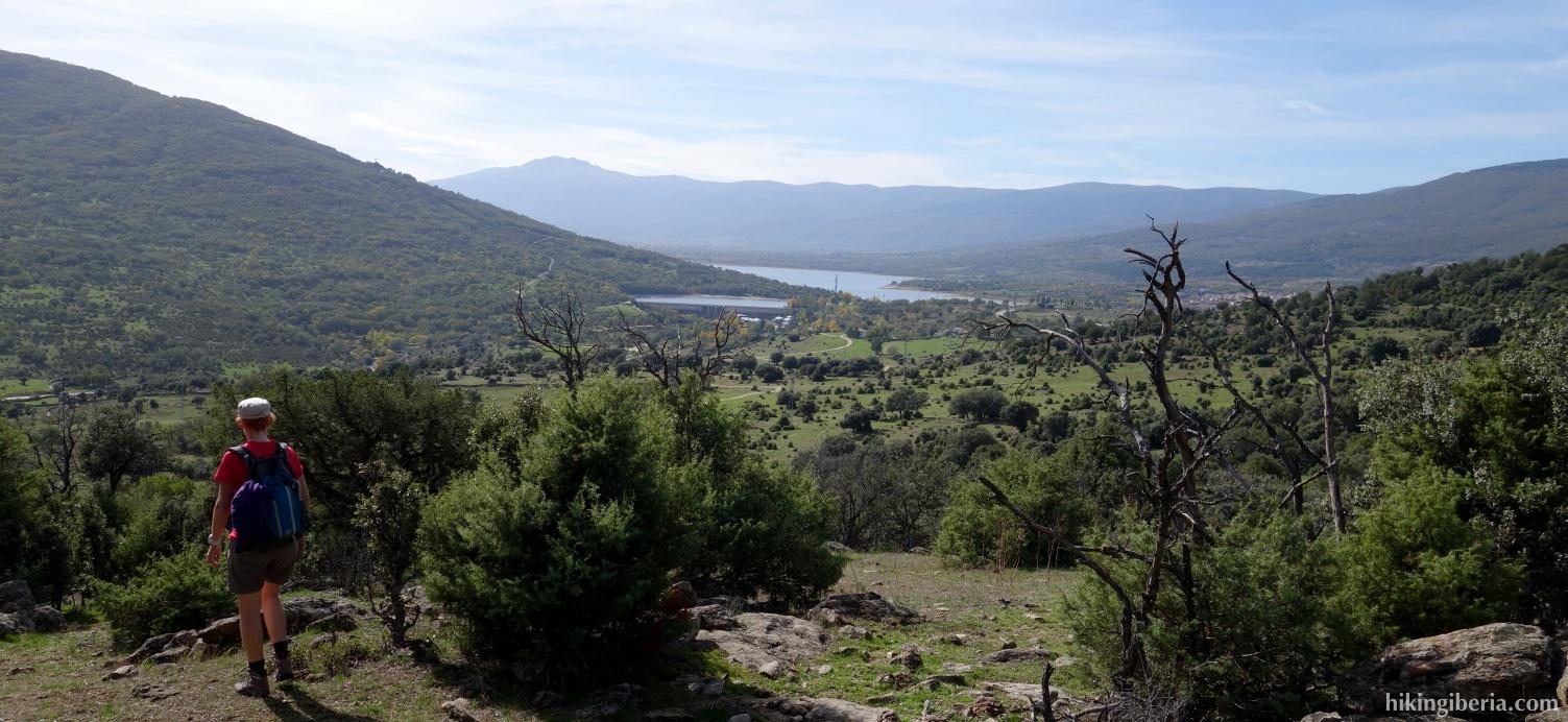 Abstieg nach Lozoya