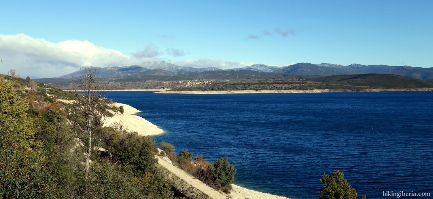 Reservoir of El Atazar