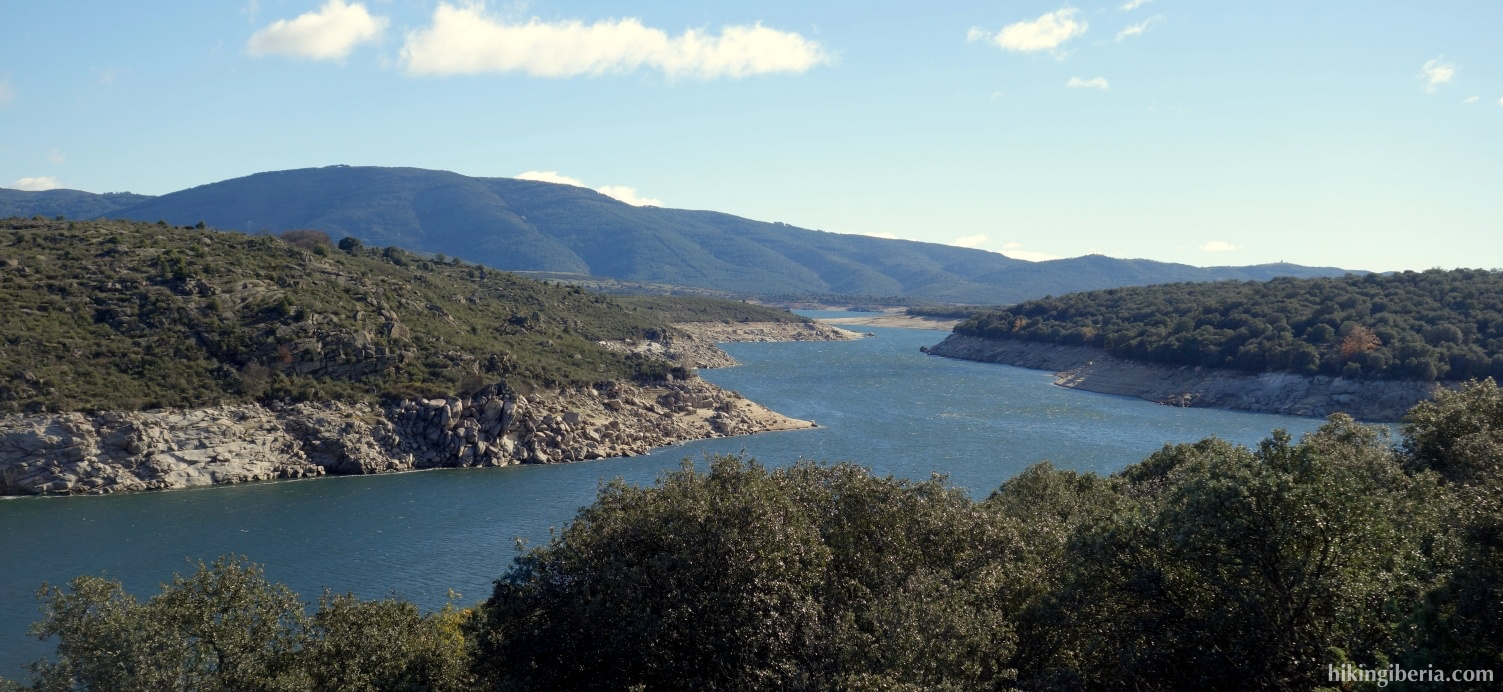 Reservoir of El Atazar