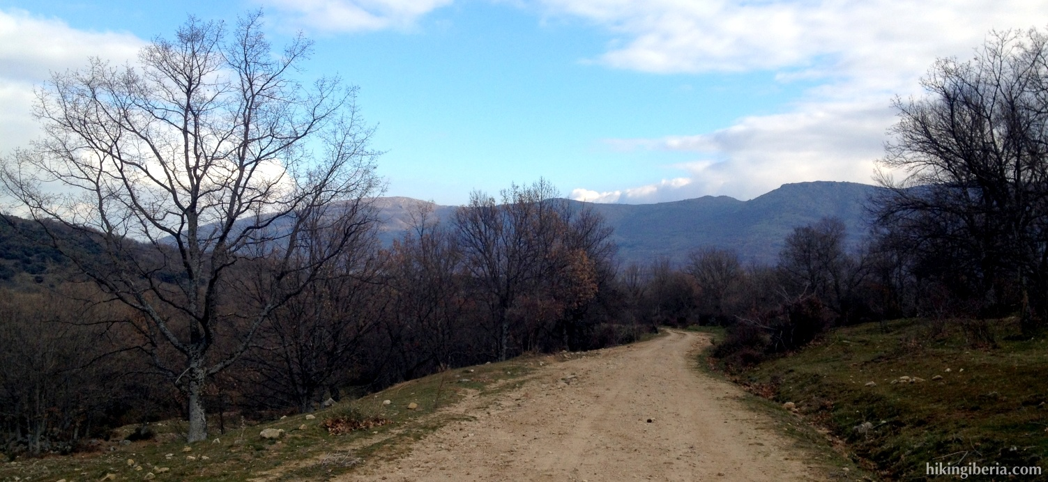 Pfad nach Alameda del Valle