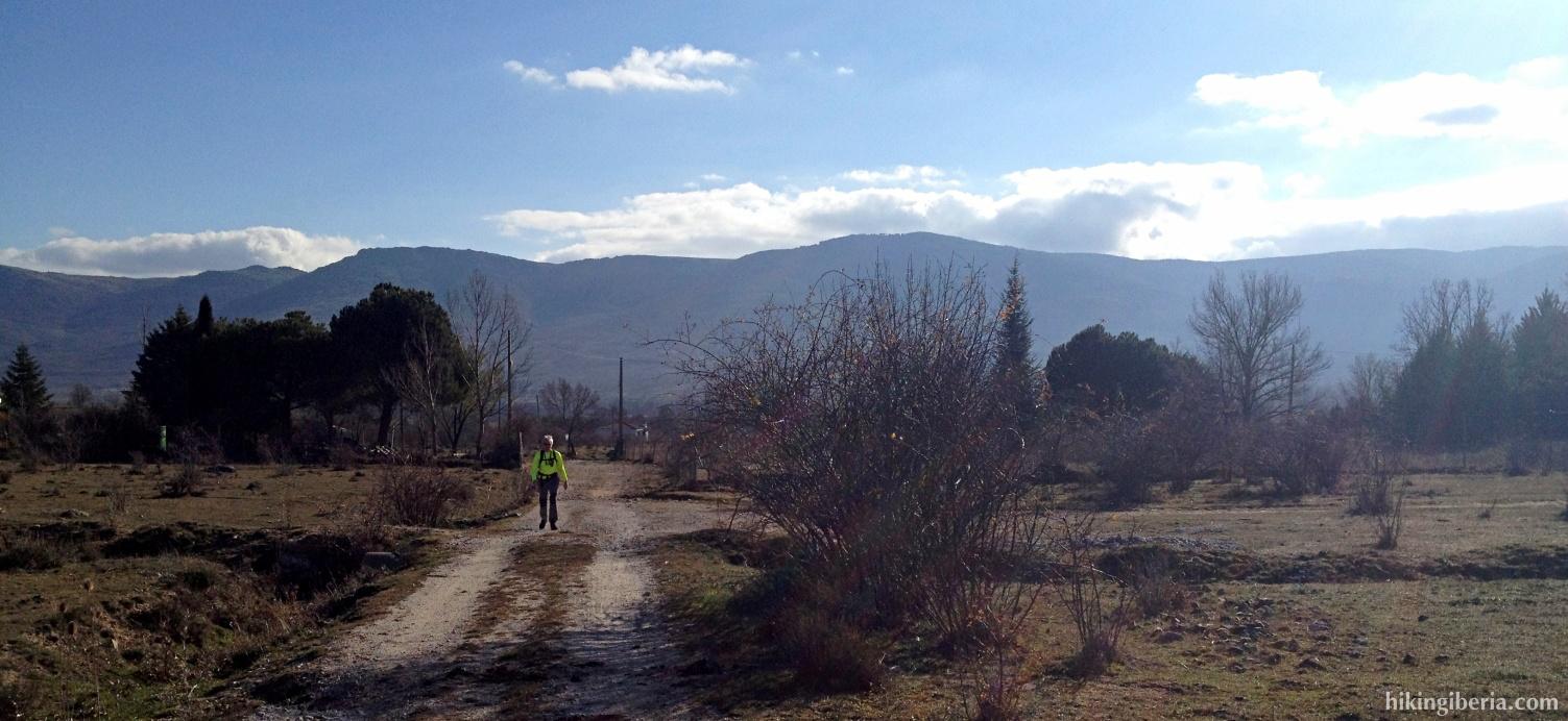Pfad in der Nähe von Oteruelo del Valle