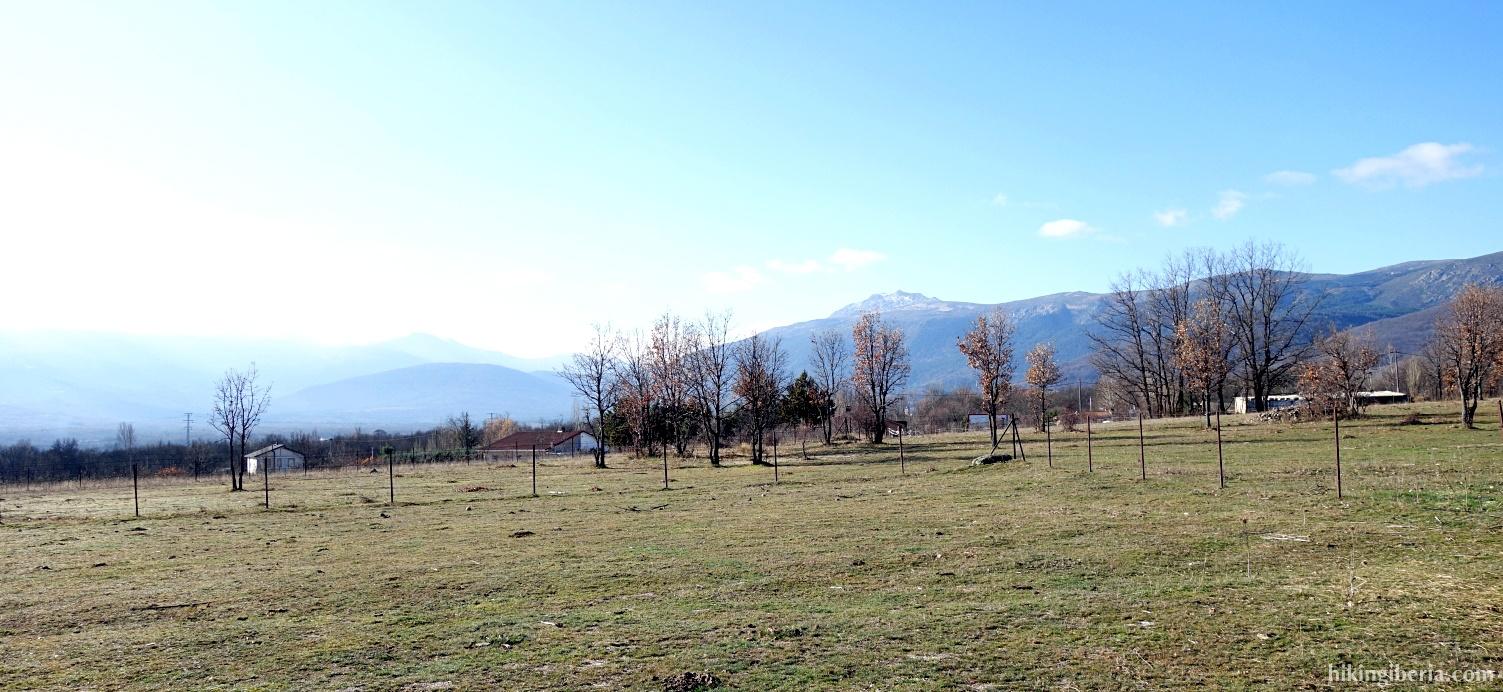 Uitzicht op de Peñalara