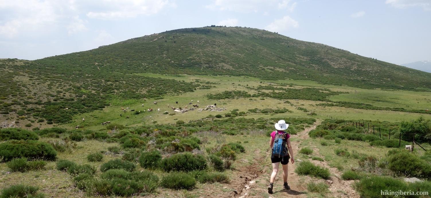 Pfad nach Cabeza la Braña