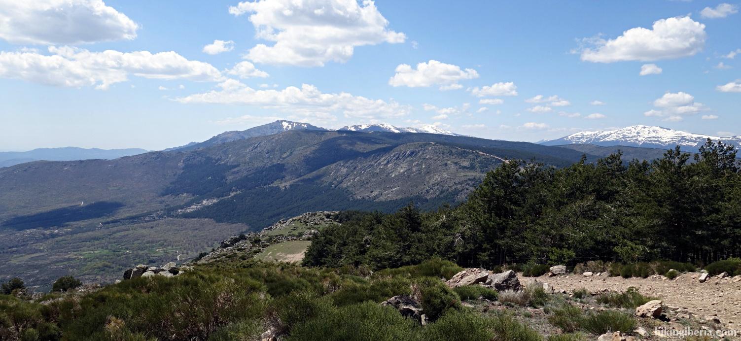 Uitzicht vanaf de Cabeza de la Braña