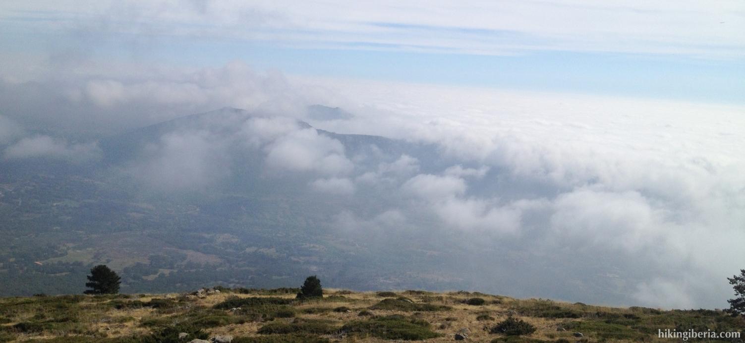 View from the Peña de la Genciana