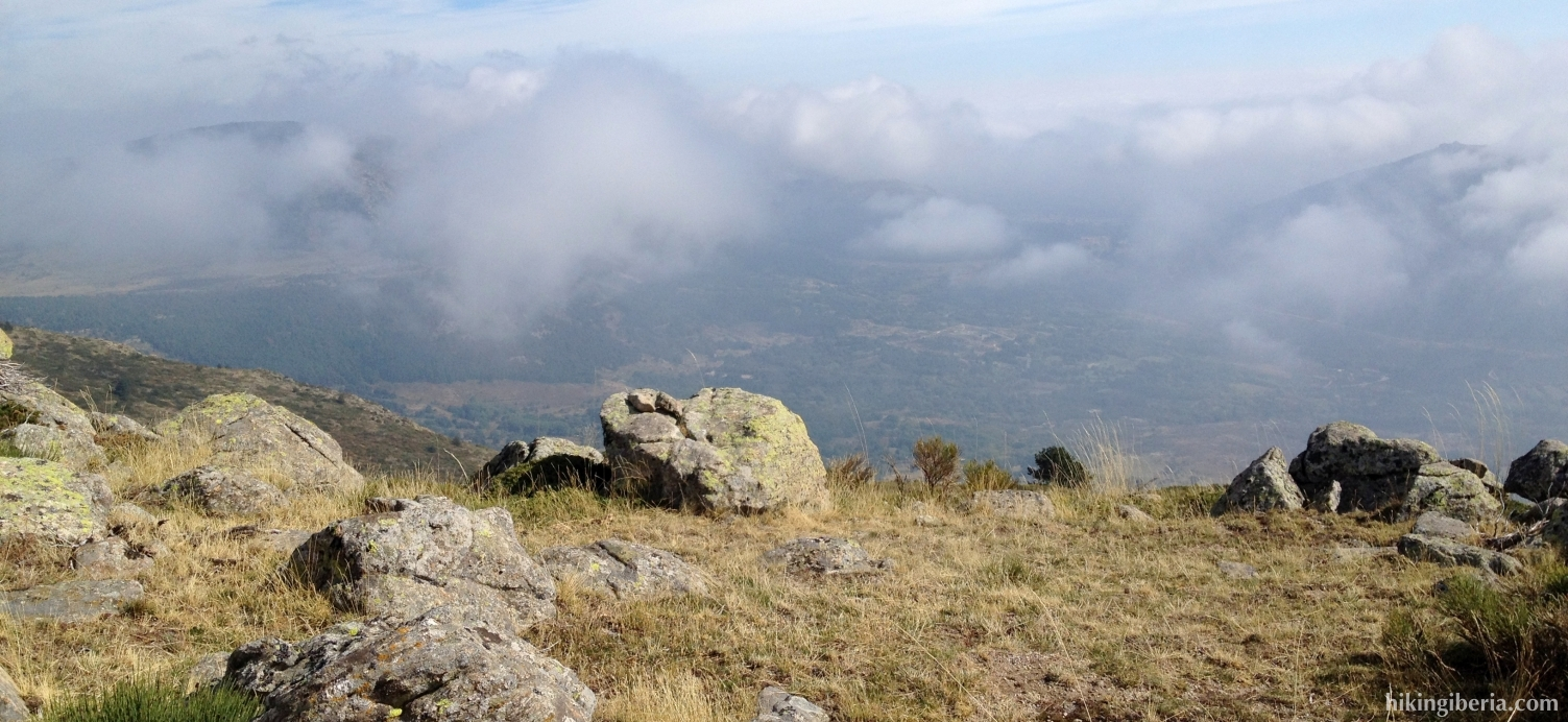 Vista desde la Peña de la Genciana