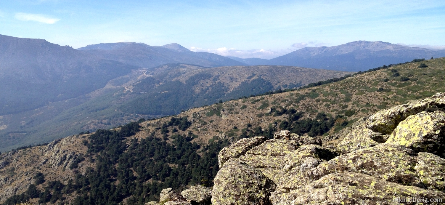 View from the Perdiguera