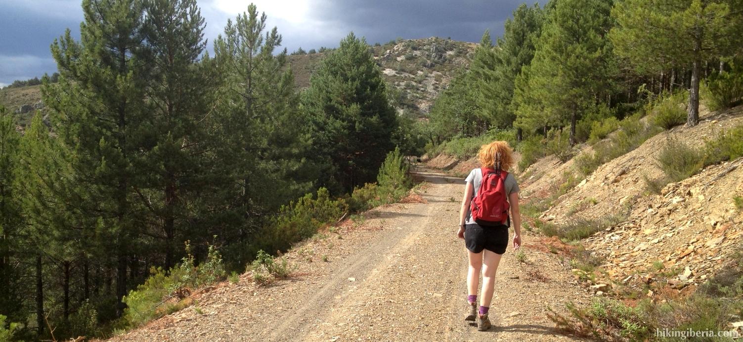 Path to La Torrecilla
