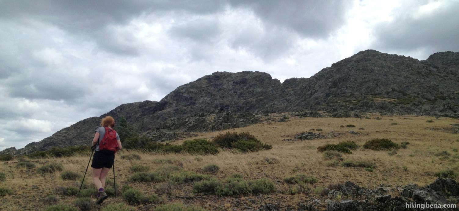 Klim naar de Pico Centenera