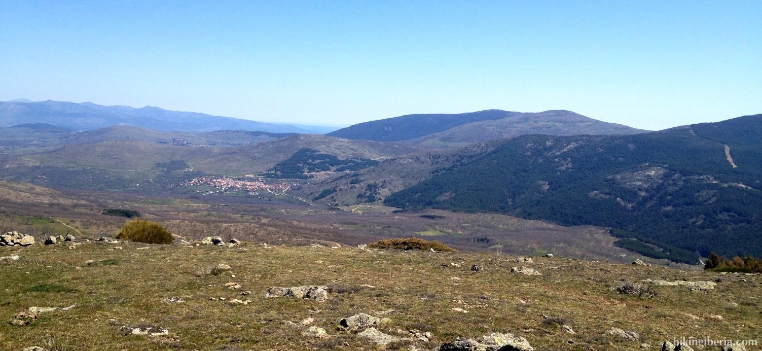 View from the Cerro del Águila