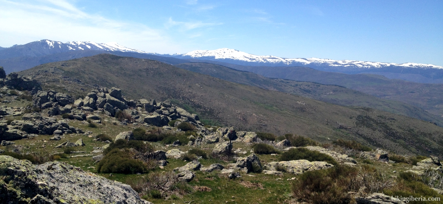 Uitzicht vanaf Pico Regajo